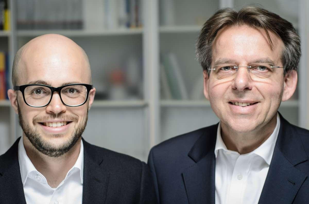Porträt Martin Theissen und Detlef Rensner